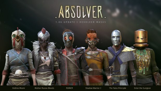 Absolver New Masks (v1.06)