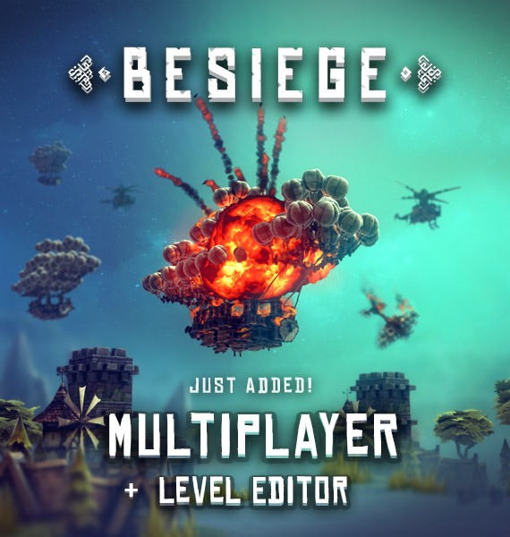 Besiege - Multiplayer + Level Editor