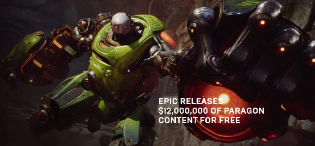 Epic Paragon Assets for Free
