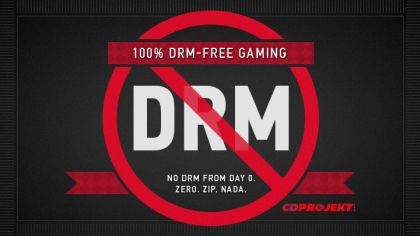NO DRM by CD Projekt RED