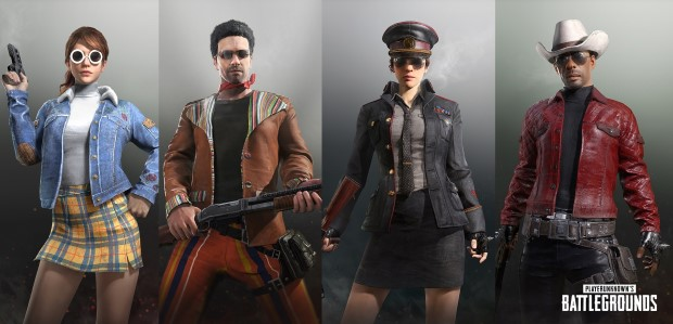 PUBG - New Outfits February 2018