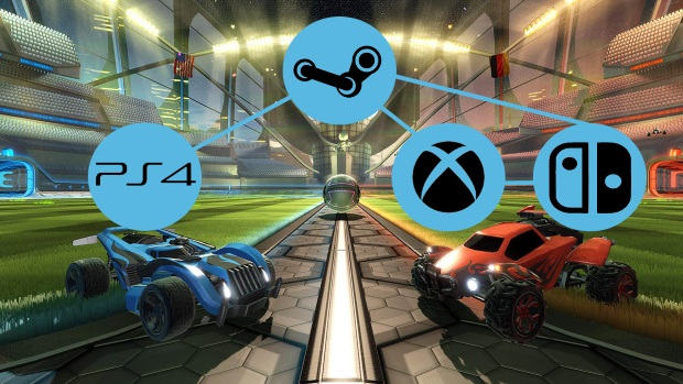 Rocket League Crossplatform Multiplayer