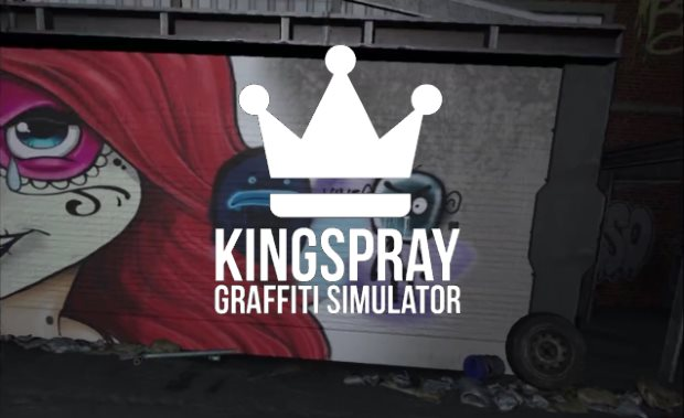 King Spray Graffiti Simulator VR