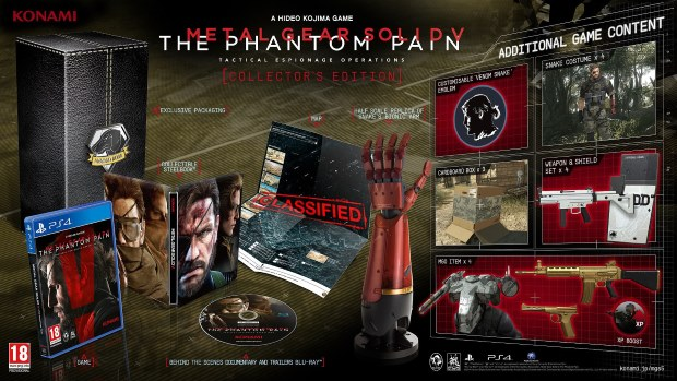 Metal Gear Solid V: The Phantom Pain Edition Collector