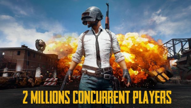 PUBG 2 Millions Concurrent Players