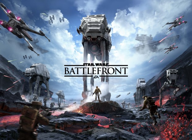 Star Wars Battlefront Art