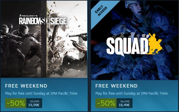 Steam Free Weekend (Week 45 / 2016)
