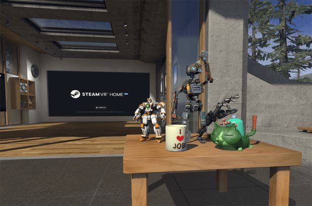 SteamVR Home - Collectibles
