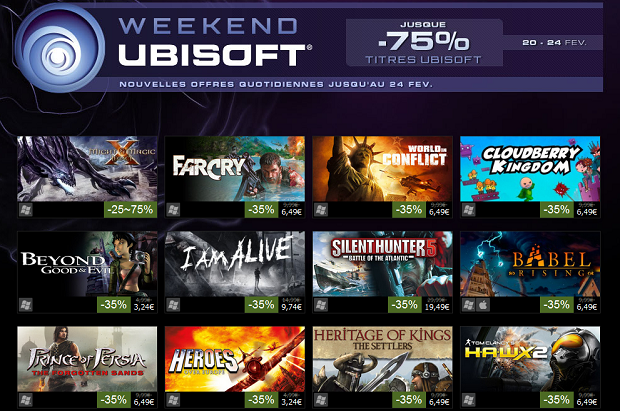 Ubisoft Promo Steam Catalogue