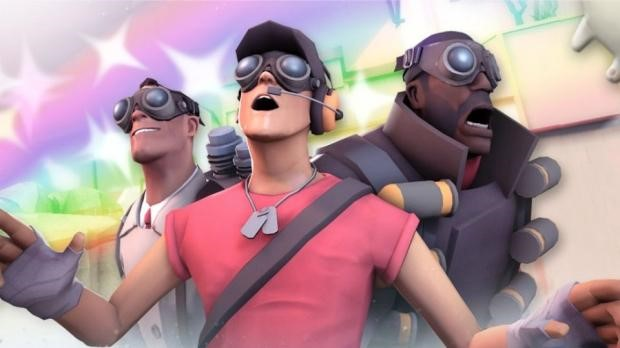SteamVR with TF2 pals